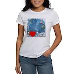 I Love Justin Women's T-Shirt