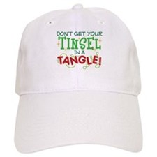 TINSEL IN A TANGLE Baseball Cap