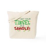 Christmas funny Canvas Tote Bag