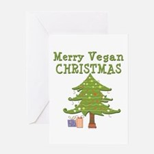 Merry Vegan Christmas Greeting Card