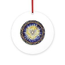 Holy Spirit Window Ornament (Round)