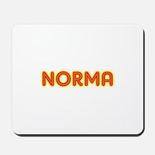 Norma in Movie Lights Mousepad