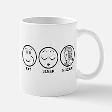Eat Sleep Mozart Mug