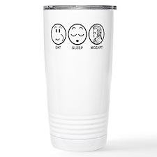 Eat Sleep Mozart Travel Mug
