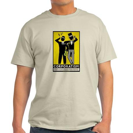 Corporatism Light T-Shirt