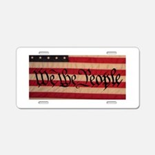 WE THE PEOPLE III Aluminum License Plate