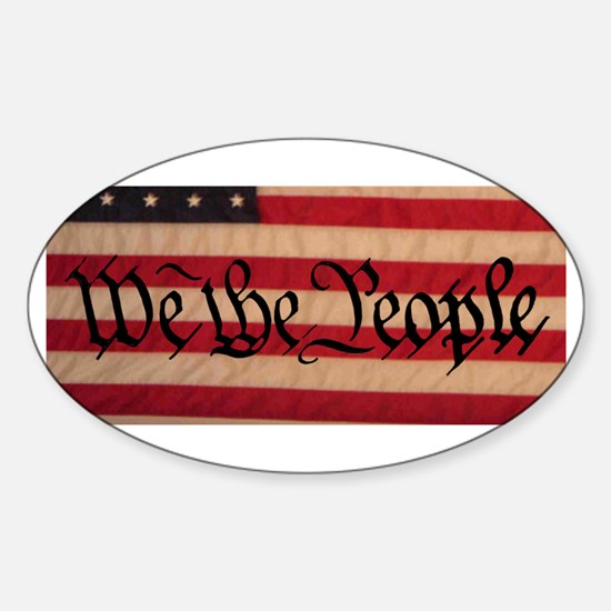 WE THE PEOPLE III Sticker (Oval)