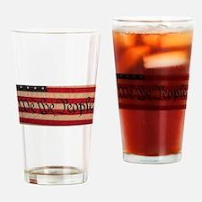 WE THE PEOPLE III Drinking Glass