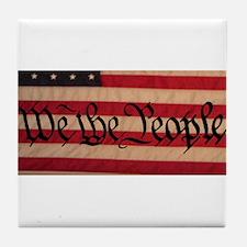 WE THE PEOPLE III Tile Coaster