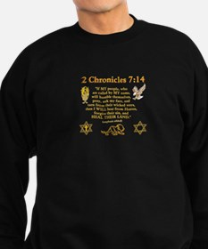 2 Chr 7:14 Lion - Sweatshirt