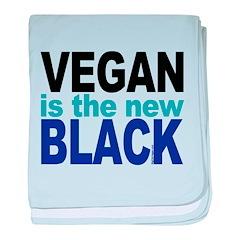 Vegan the New Black baby blanket