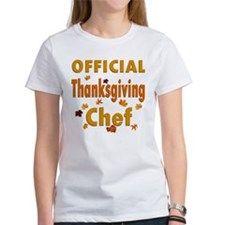 Thanksgiving Chef Tee