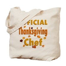 Thanksgiving Chef Tote Bag