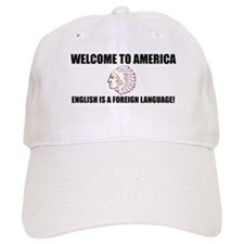 English is Foreign Baseball Cap