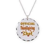 Thanksgiving Chef Necklace