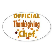 Thanksgiving Chef Decal