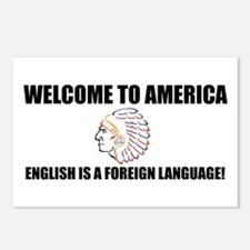 English is Foreign Postcards (Package of 8)