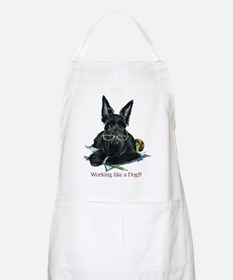 Working Scottie BBQ Apron