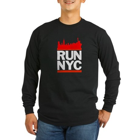 Run NYC Long Sleeve Dark T-Shirt