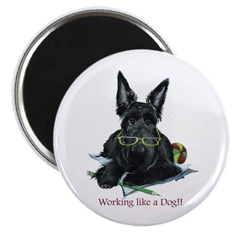 Working Scottie Magnet