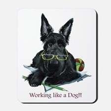 Working Scottie Mousepad