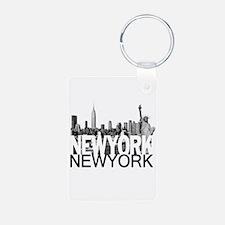 New York Skyline Keychains