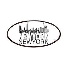 New York Skyline Patches