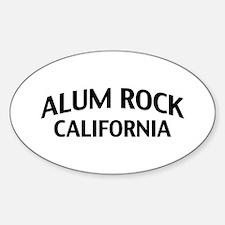 Alum Rock California Decal