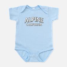 Alpine California Infant Bodysuit