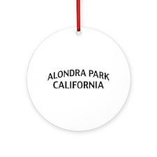 Alondra Park California Ornament (Round)