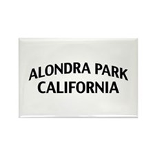 Alondra Park California Rectangle Magnet