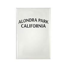 Alondra Park California Rectangle Magnet