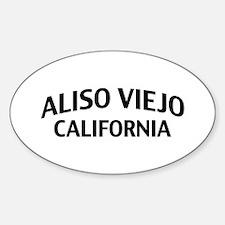 Aliso Viejo California Decal