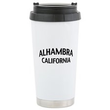 Alhambra California Travel Mug