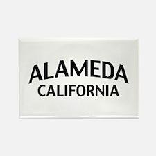 Alameda California Rectangle Magnet