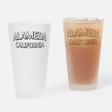 Alameda California Drinking Glass