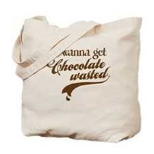 Chocolate Wasted Tote Bag