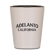Adelanto California Shot Glass