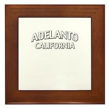 Adelanto California Framed Tile