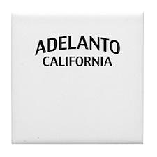 Adelanto California Tile Coaster