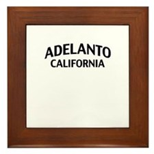 Adelanto California Framed Tile
