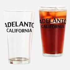 Adelanto California Drinking Glass