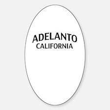 Adelanto California Sticker (Oval)