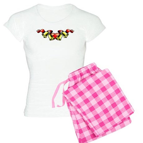 Christmas Bell Bottoms/Tops Women's Light Pajamas