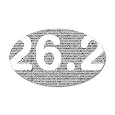 22x14 Oval Wall Peel