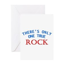 One True Rock Greeting Card