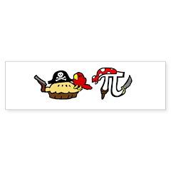 Pi & Pie Pirates Sticker (Bumper)