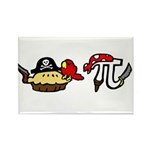 Pi & Pie Pirates Rectangle Magnet (10 pack)