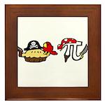 Pi & Pie Pirates Framed Tile