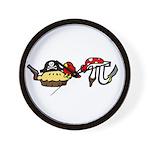 Pi & Pie Pirates Wall Clock